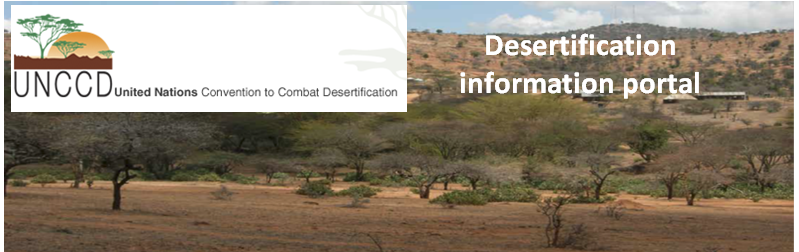 UN Convention on Combating Desertification Logo